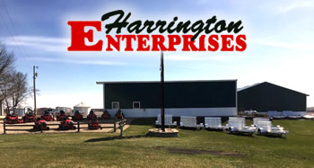 Harrington Enterprises - Southeast Minnesota - Lawn Mowers, Snow Blowers, Trailers, Country Clipper, Snapper, Simplicity - Harrington Enterprises, Lawn and Garden, Trailers, Farm Equipment, Lawn Mowers, Zero Turn, Parts, Service, Country Clipper, Snapper, Shindaiwa, Simplicity, Midsota, Briggs and Stratton, Gold Country Seed, Baldwin Filters, Parker, Interstate Batteries, BCS America, aluma, Kohler Engines, Archer Lubricants, Kawaskaki Engines, Farm King, Joy Stick Steering, Cutting Decks, Commercial, Residential, 360 degree turning, ZTR Mower, Aluminum Trailers, No rust, Shortline, Minnesota, Iowa, Highway 63, Racine, Le Roy, Ostrander, Lime Springs, Chester, Cresco, Spring Valley, Stewartville, Preston, Harmony, Decorah, Protivin, Calmar, Riceville, New Haven, Adams, St. Ansgar, Austin, New Hampton, Lanesboro, Fountain, Chatfield, Wykoff, contractors, schools, business, maintenance, landscape, outdoor living, grass, weeds, Fillmore County, Howard County, Fisks, Walmart, John Deere, Tractor Supply, Hammell Equipment, M&M Lawn & Leasure, Rushford, Cresco Small Engine, Riding Mower, Mower Trailer, Equipment Trailer, Sit On, Drivable, SEMA, Usgaard Smith, Family Owned, Experienced, Quality, Trusted, Reliable, Chad, Camri, Dealer