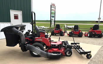 Harrington Enterprises - Southeast Minnesota and Northern Iowa - Mowers, trailers, lawn and garden, snow blowers, farm equipment in Le Roy, Minnesota